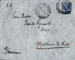 Italy 1914 Italian Tripolitania - Letter From Tripoli To Germany - 2005.1428 Italian Franking With  25 C - Tripolitaine