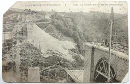 LE VIADUC DES FADES EN CONSTRUCTION - France