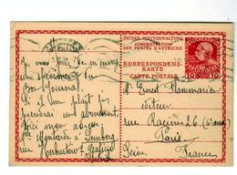 Timbre D'Autriche  Galicie Sur Carte Aux Editions Ernest Flammarion En 1910 - Lettres & Documents