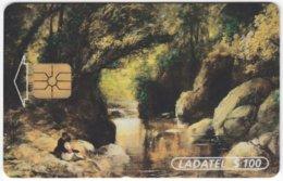 MEXICO B-254 Chip Telmex - Painting, Landscape - Used - Mexico