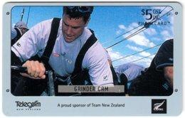 NEW ZEALAND A-977 Chip Telecom - Sport, Yacht Race - Used - Nuova Zelanda
