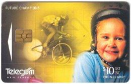 NEW ZEALAND A-994 Chip Telecom - Sport, Cycling - Used - Nuova Zelanda