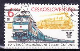 Tchécoslovaquie 1982 Mi 2657 (Yv 2480), Obliteré - Czechoslovakia