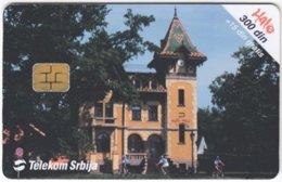 SERBIA A-441 Chip Telekom - Culture, Castle - Used - Jugoslawien