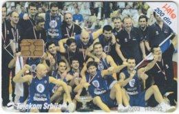 SERBIA A-443 Chip Telekom - Sport, Basketball - Used - Jugoslawien
