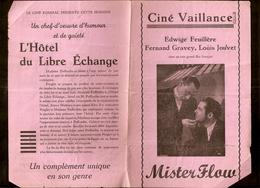 Anderlecht - Cinéma Vaillance - Ciné Kursaal - Programme Ancien - Programmes