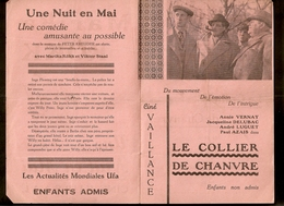 Anderlecht - Cinéma Vaillance - Ciné Kursaal - Programme Novembre 1941 - Programmes