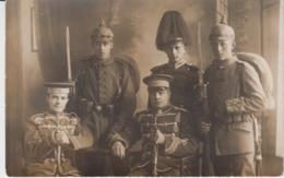 Real Photo Postcard - Germany Deutschland Prussia - Militaria  Army Military Officer Sword WW1 WK1 Atelier Rothe Hamburg - Krieg, Militär