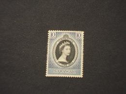 SARAWAK - 1953 REGINA - NUOVI(++) - Sarawak (...-1963)