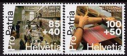 Switzerland - 2020 - Pro Patria - Living Cultural Heritage - Sitterwerk Foundation, Manufactura Tessan - Mint Stamp Set - Svizzera