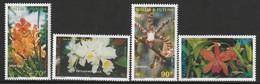 WALLIS Et FUTUNA - N°513/6 ** (1998) Orchidées - Neufs