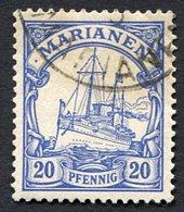 Allemagne, Colonie Allemande, Mariannes, Marianen, N°10 Oblitéré, Qualité Très Beau - Colonie: Mariannes