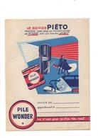 4 Protege Cahiers Boitier PIETO , Belles Images De L'histoire De France , Points IMA , Et Chicorée WILLIOT - Protège-cahiers