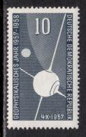 East Germany / DDR 1957 Mi# 603 ** MNH - Sputnik I / Space - Europe