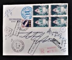 Lettre Recommandée De Fontainebleau Pour Gournay En Bray. Lettre Non Distribuée. 1966 - 1961-....