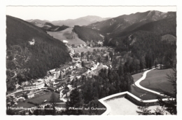Gutenstein - Mariahilfberg-Höhenstrasse - Blick V. D. Kanzel Auf Gutenstein - Gutenstein