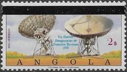 ANGOLA 1981 DIA MUNDIAL DAS TELECOMUNICAÇÕES -  WORLD TELECOMMUNICATIONS DAY -  JOURNÉE MONDIALE DES TÉLÉCOMMUNICATIONS - Angola