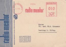 Deutsche Bundespost Werbung Postkarte 1951 Rotfrankerung - Used Stamps