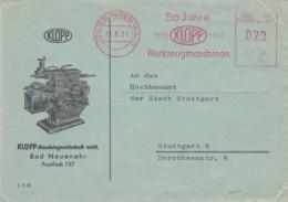 Deutsche Bundespost Werbung Brief 1961 Rotfrankerung - Used Stamps