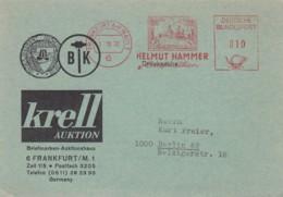 Deutsche Bundespost Werbung Postkarte 1970 Rotfrankerung - Used Stamps