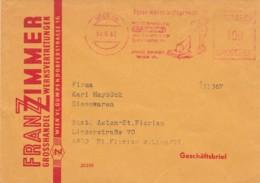 Deutsche Bundespost Werbung Brief 1966 Rotfrankerung - Used Stamps