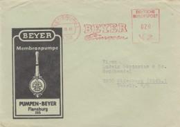 Deutsche Bundespost Werbung Brief 1965 Rotfrankerung - Used Stamps