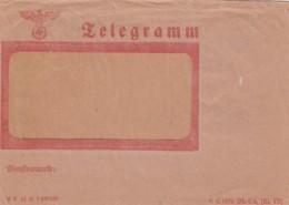 Deutsches Reich Telegramm Circa 1940 - Allemagne