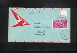 Spain 1963 Interesting Airmail Letter - 1961-70 Briefe U. Dokumente
