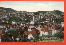ZAG-05 St.-Gallen Mit St Fiden . Gelaufen 1907 - SG St. Gall