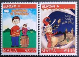 EUROPA        ANNEE 2010        MALTE         N° 1588/1589           NEUF** - 2010
