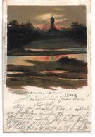 1703t: AK Leipzig, Hochwasser Scherbelberg, Gelaufen 1899 - Leipzig