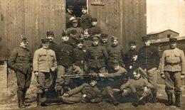 CRIEL-SUR-MER HERINNERING SOUVENIR    ARMEE BELGE BELGIQUE BELGIUM 1914/15 WWI WWICOLLECTION - Criel Sur Mer