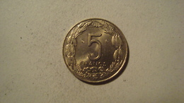MONNAIE ETATS DE L'AFRIQUE CENTRALE 5 FRANCS 2003 - Monnaies