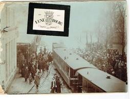 Semaine De L`aviation,1910 à M.les Bains Hotel De De La Gare P.HUSS REYTER Photo 20/15.Voir Scan Rare état - Cartoline