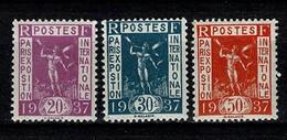 France 1936 Yv. 322**/323**, 325** - MNH - Ungebraucht