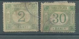 200035345  RUMANIA  YVERT  TAXE  Nº  11/14 - Impuestos