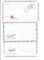 Enveloppes X 3  Par Avion Via Air Mail TB - Airmail