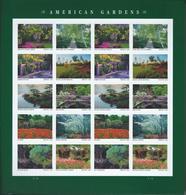 USA. Scott # ? MNH Sheet Of 20. American Gardens  2020 - Feuilles Complètes