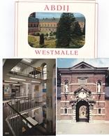 Westmalle, Tappistenabdij 14 Genummerde Postkaarten - Malle