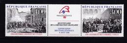 FRANCE 1988 : NEUF** LUXE Y/T N° 2537 2538 - Unused Stamps