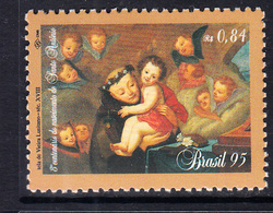 1995 Brazil St. Anthony JOINT ISSUE Portugal Complete Set Of 1 MNH - Nuovi