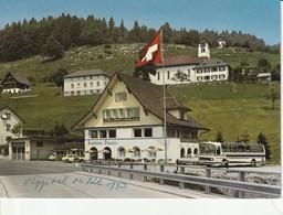 Gasthaus Stausee, Innerthal; Autobus Mercedes Benz - SZ Schwyz