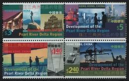 Hongkong 2004 - Mi-Nr. 1218-1221 ** - MNH - Pearl River Delta - 1997-... Chinese Admnistrative Region