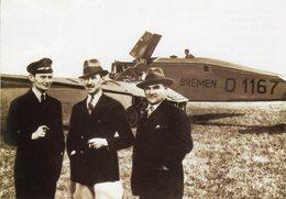 Junkers W33 'Bremen'  -  Hermann Kohl - Von Hunefeld - James C.Fitzmaurice  -  (1928)   -  CPM - 1919-1938: Entre Guerres