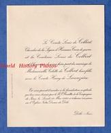Faire Part De Mariage De 1930 - DÔLE ( Jura ) - Mariage De Colette De COLBERT & Le Comte Henry De LAROUZIERE - Wedding