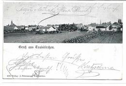 1702m: AK Gruß Aus Traiskirchen, Gelaufen 1902 - Baden Bei Wien
