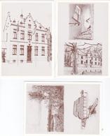 Oud-Turnhout , Pentekening. 3 Kaarten - Oud-Turnhout