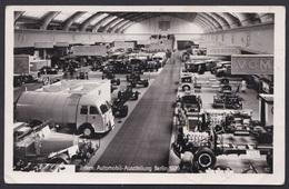 Ak Berlin - Charlottenburg, Internationale Automobilausstellung 1939 Gel. Nach Wien, Autos, Sonderstempel - Charlottenburg