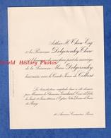 Faire Part De 1924 - PARIS 10 Avenue Camoëns - Mariage Comte Jean De COLBERT Avec La Princesse Marie DOLGOROUKY - Wedding