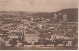 CPA St. Mihiel (Belle Vue D'ensemble Avec L'église St-Michel) Edition Allemande : Julius Berger Metz - Saint Mihiel